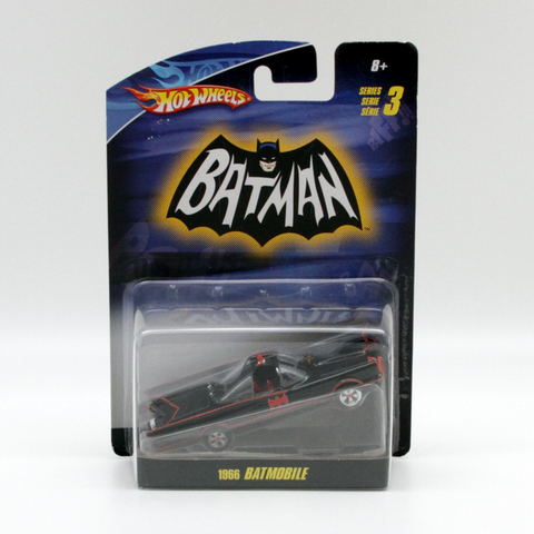 Hot Wheels Batman Series 3 Batmobile 1966 Vintage - It Came From Planet Earth  - 1