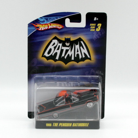 Hot Wheels Batman Series 3 Penguin Batmobile 1966 Vintage - It Came From Planet Earth  - 1