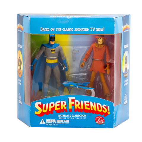 Super Friends! Batman & Scarecrow, Deluxe Action Figure set