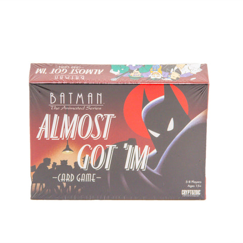 Batman The Animated Series Almost Got 'Im Card Game