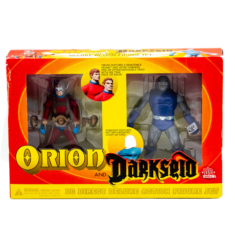 Orion and Darkseid Action Figures