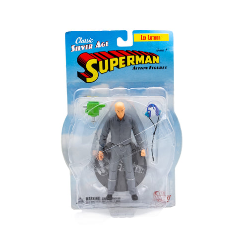 Classic Silver Age Superman Action Figure, Series 1, Lex Luthor
