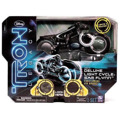 Tron Legacy Deluxe Light Cycle: Sam Flynn Functioning Air Brakes Vintage - It Came From Planet Earth
