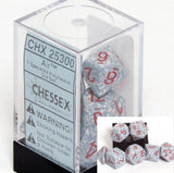 Polyhedral 7-Die Speckled Dice Set - Air - It Came From Planet Earth  - 2