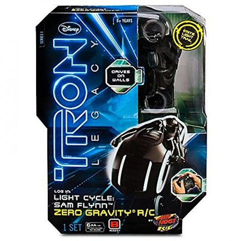 Tron Legacy Light Cycle: Sam Flynn Zero Gravity R/C Vintage - It Came From Planet Earth  - 1