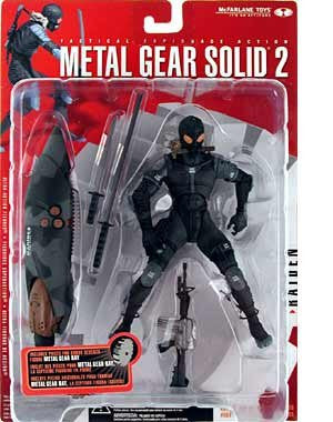 McFarlane Toys Metal Gear Solid 2: Sons of Liberty Raiden Action Figure Vintage - It Came From Planet Earth  - 1