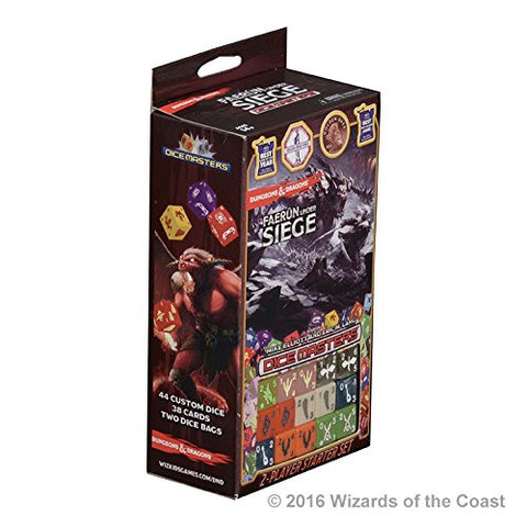 Dice Masters Dungeons and Dragons Faerun Under Siege Starter Set