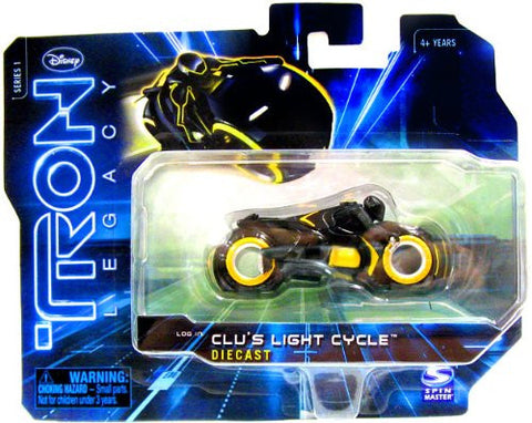 Tron Legacy Clu's Light Cycle Diecast Vintage - It Came From Planet Earth