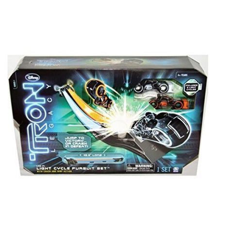 Tron Legacy Light Cycle Pursuit Set Vintage - It Came From Planet Earth