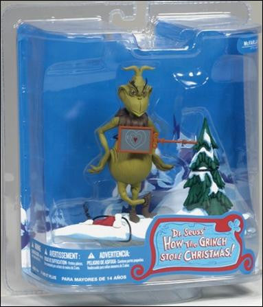 "McFarlane  How the Grinch Stole Christmas ""Two Sizes Too Small"" Figure Vintage - It Came From Planet Earth  - 1"