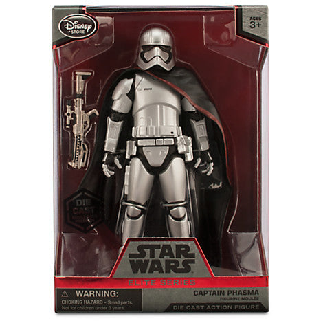 Star Wars Elite Series Captain Phasma Diecast Figure - It Came From Planet Earth  - 1