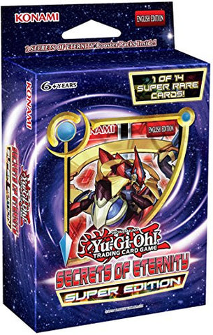 Yu-Gi-Oh Secrets of Eternity Super Edition Pack