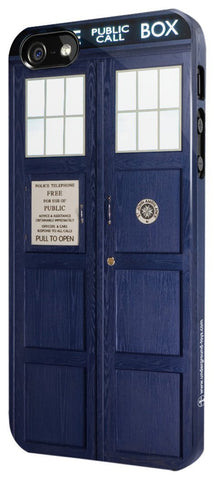 Doctor Who Tardis Iphone 5/5s Case - It Came From Planet Earth