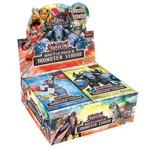 Yu-gi-oh Battle Pack 3: Monster League Booster Box