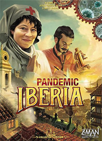 Pandemic: Iberia Board Game LImited Collector's Edition