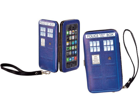 Doctor Who  I Am TARDIS iPhone 5/5S Hinge Wallet - It Came From Planet Earth  - 1