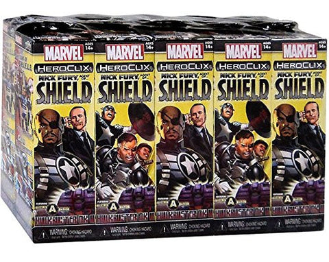Heroclix Nick Fury Agent of Shield Booster Packs