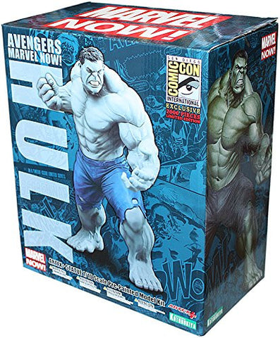 Avengers Marvel Now! Grey Hulk Artfx+ Statue 2014 Comic-Con Exclusive - It Came From Planet Earth  - 1