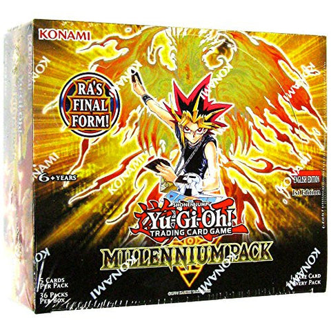 Yu-Gi-Oh Millennium Pack 1st Edition Booster Packs