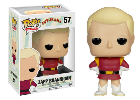 Funko Pop! Animation Futurama Zapp Brannigan - It Came From Planet Earth
