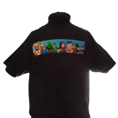 The Justice League T-Shirt, XXL, crew neck