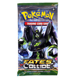 Pokemon XY Fates Collide Card Game Booster Pack English Edition - It Came From Planet Earth  - 2