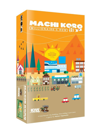 Machi Koro Millionaire's Row Expansion - It Came From Planet Earth  - 1