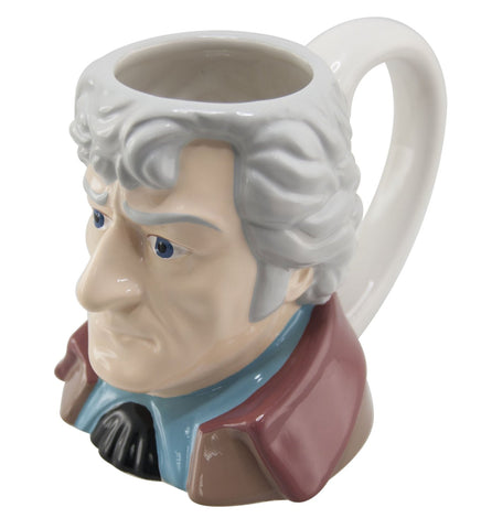 Doctor Who 3rd Doctor Ceramic 3D Mug - It Came From Planet Earth