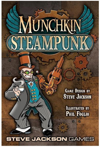 Munchkin Steampunk Game - It Came From Planet Earth