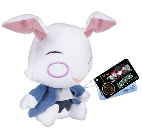 Mopeez Alice Through the Looking Glass White Rabbit Plush - It Came From Planet Earth  - 1