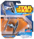 Hot Wheels Star Wars Die-Cast Tie Fighter - It Came From Planet Earth  - 1