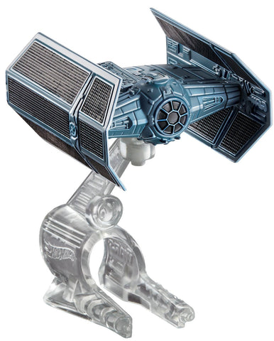 Hot Wheels Star Wars Die-Cast Darth Vader's Tie Advanced X1 Prototype - It Came From Planet Earth  - 1