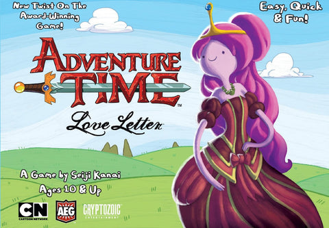 Love Letter: Adventure Time Boxed Card Game - It Came From Planet Earth  - 1