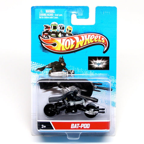Hot Wheels Bat-POD Batman Motorcycle Diecast - It Came From Planet Earth  - 1