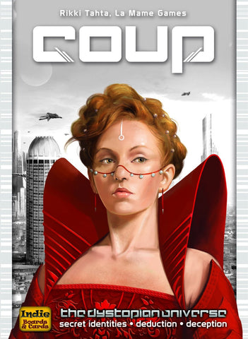 Coup (The Dystopian Universe) Game - It Came From Planet Earth  - 1