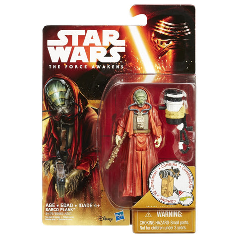 Star Wars Force Awakens Desert Wave 2 Sarco Plank - It Came From Planet Earth  - 1