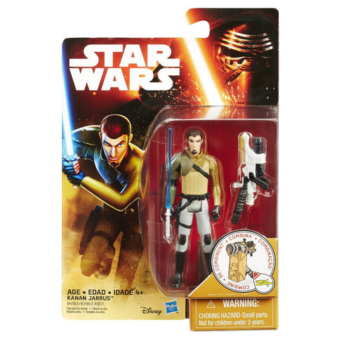 Star Wars Force Awakens Rebels Desert Wave 2 Kanan Jarrus - It Came From Planet Earth  - 1