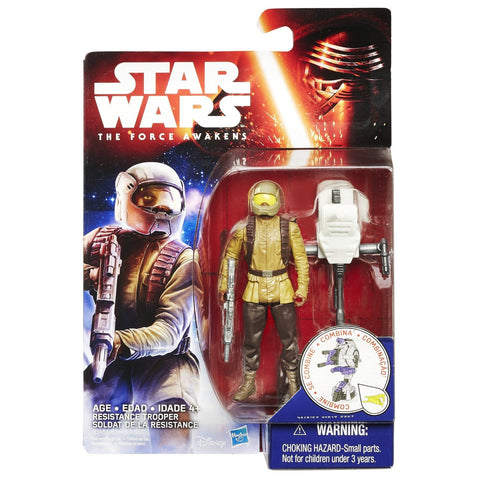 Star Wars Force Awakens Space Wave 1 Resistance Trooper - It Came From Planet Earth  - 1