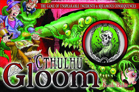 Cthulhu Gloom Card Game - It Came From Planet Earth  - 1