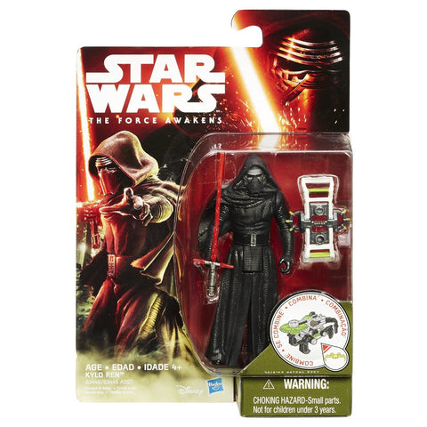 Star Wars Force Awakens Jungle Wave 1 Kylo Ren - It Came From Planet Earth  - 1
