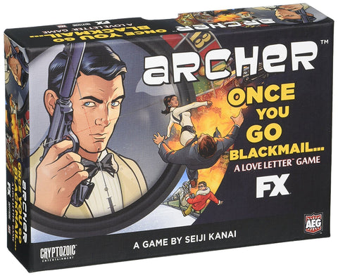 Archer Once You Go Blackmail... A Love Letter Game
