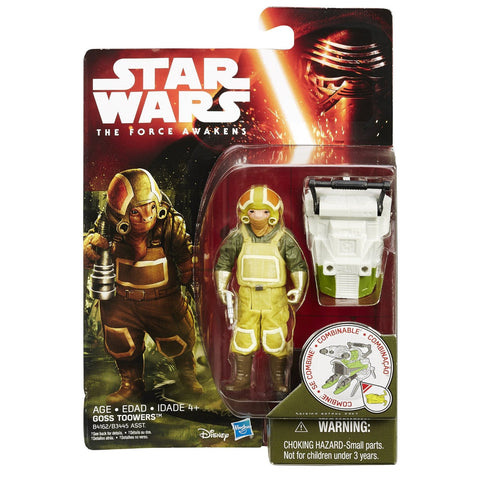 Star Wars Force Awakens Jungle Wave 2 Goss Toowers - It Came From Planet Earth  - 1