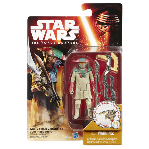 Star Wars Force Awakens Desert Wave 1 Constable Yuvio - It Came From Planet Earth  - 1