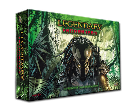 Legendary Encounters A Predator Deck Building Game Board Game