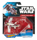 Hot Wheels Star Wars Die-Cast Republic Attack Gunship - It Came From Planet Earth  - 2