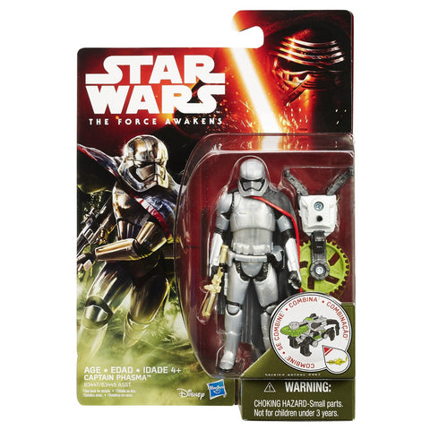 Star Wars Force Awakens Jungle Wave 1 Captain Phasma - It Came From Planet Earth  - 1