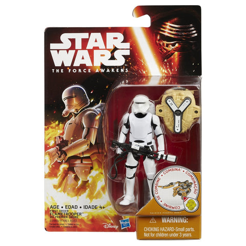 Star Wars The Force Awakens Snow Desert Wave 1 First Order Flame Trooper - It Came From Planet Earth  - 1