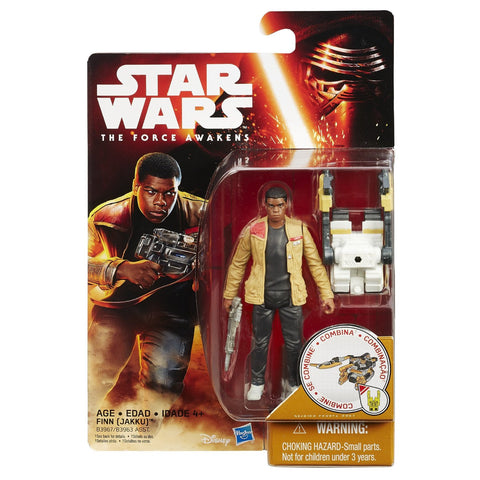 Star Wars Force Awakens Desert Wave 1 Finn Jakku - It Came From Planet Earth  - 1