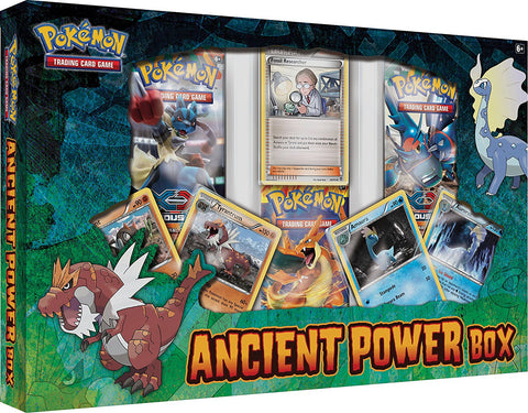 Pokemon Trading Card Game: Ancient Power Box