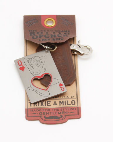 Bottle Opener - Queen of Hearts